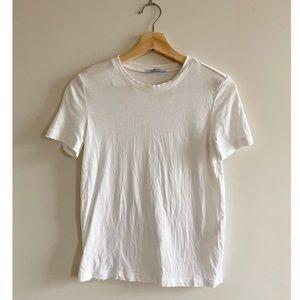 🎉 3 for $15 Zara White Tee Shirt Short Sleeve